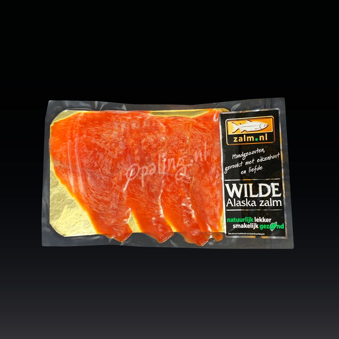 Wilde Alaska zalm 100 gram